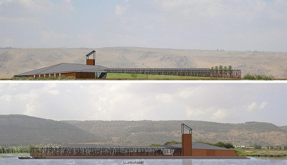 Golany Architects_Hula Visitors' Centre,