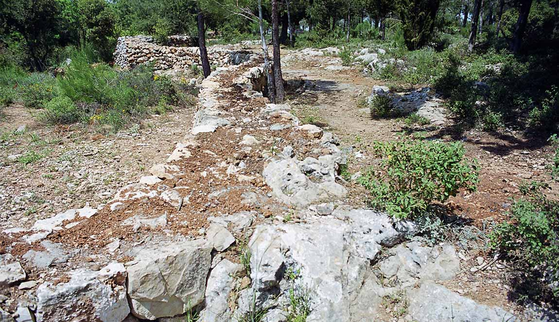 ארכיטקט באזור ירושלים, טרסות אבן