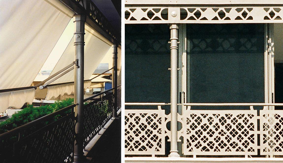 Golany Architects | אדריכלים בתל אביב | Laser cut railings