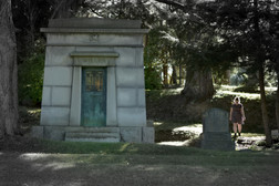 In the cemeteries she found great monuments to the powerful people who once lived here.