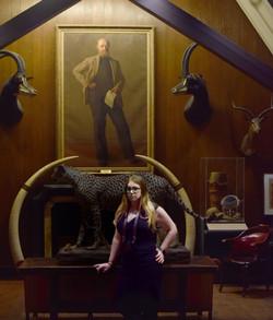 Indy-Anna Bones is an explorer, adventurer, street art expert, cryptozoologist and pigeon-enthusiast.