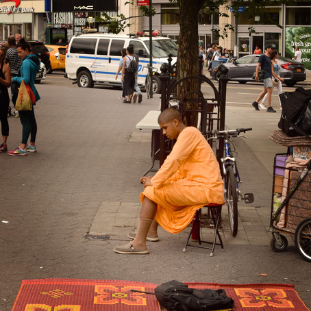 Krishna with Orange Carpet, Orange Robe, and Orange Cell Phone Case