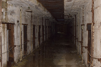 If any place could be haunted, it is Eastern State with it's long stone halls and air that smells of moss.