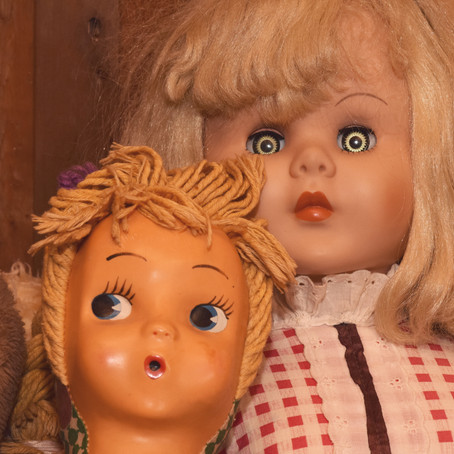 Creepy-Eyed Dolls