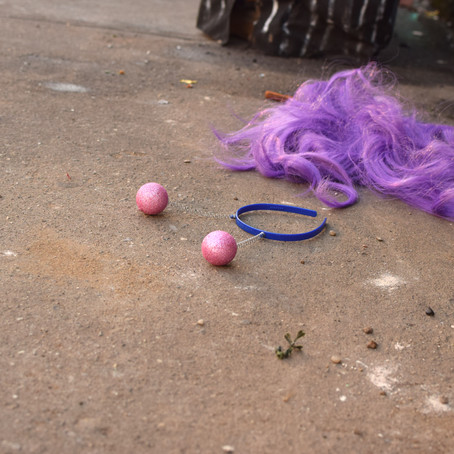 Discarded Purple Wig