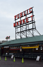 The Pike Place Market is one of the oldest continuously-operated farmers markets in the United States.