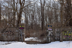 There in the woods, less than an hour from New York City, was hidden the remains of a tiny kingdom.