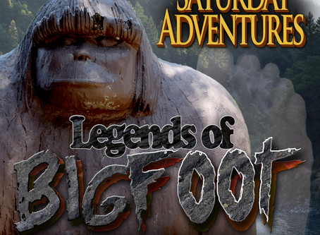 Legends of Bigfoot Stickers