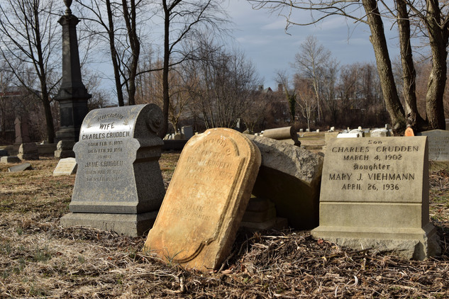 The organization sponsers cleanups, resetting toppled tombstones and beating  back years of neglect.
