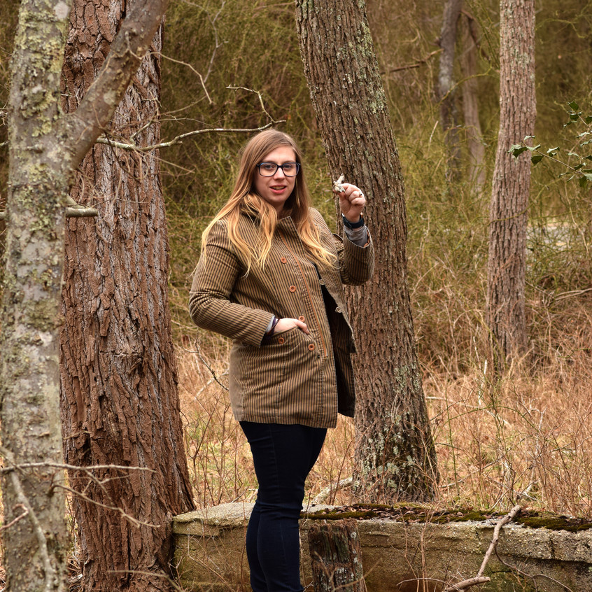 She began finding specimens right away.