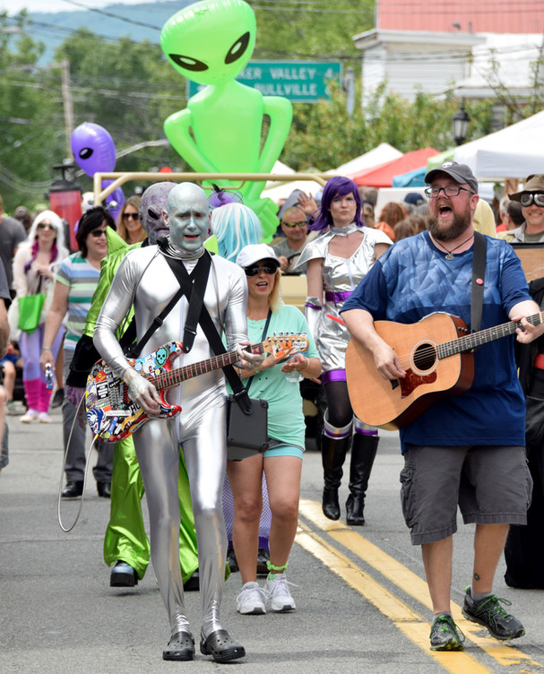 As the town population grows, sightings have waned, but Pine Bush remains proud of the paranormal heritage, and they celebrate every year with a festival and parade.