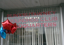 Punxsutawny is a little town near the middle of Pennsylvania, surrounded by hills and mountains and thick forests, far-removed from the urban centers of Philadelphia and Pittsburgh, but recognized in groundhog-culture as far back as 1886.