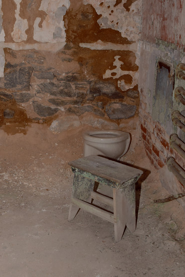 Solitary confinement was the rule until 1913, and prisoners were forbidden from contact with any other human, inmate or guard, so they could reflect on their crimes.
