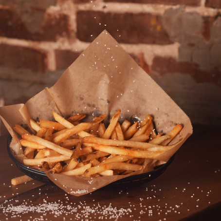 French Fries with Sprinkled Salt