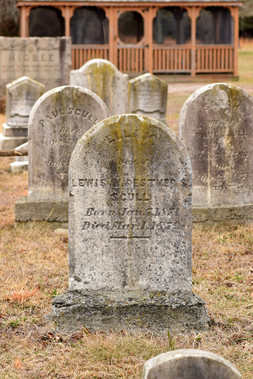 Some tombstones were very old, but nothing from the age of Mother Leeds.