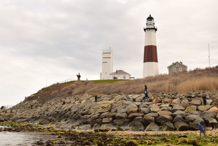 The Montauk Lighthouse is the oldest lighthouse in New York, with construction starting while George Washington was still President.