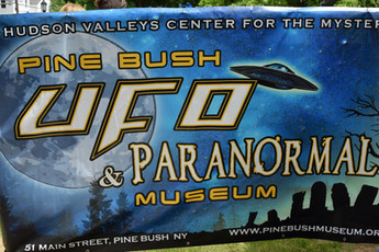 In 2018, Pine Bush celebrated the grand opening of the Pine Bush UFO & Paranormal Museum, a collection and tribute to all the wierdness of the surrounding area, complete with an alien abduction table that visitors can lay upon for probing.