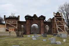That is where Indy-Anna Bones found what remains of Mount Moriah Cemetery.
