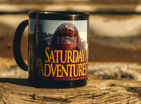 Saturday Adventures Coffee Mug