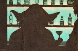 bar scene yoda