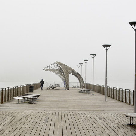 Brooklyn Pier in the Fog