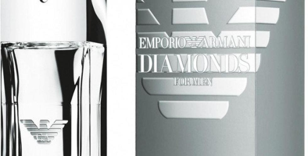 EMPORIO ARMANI DIAMONDS HE EDT V50ML / GIORGIO ARMANI