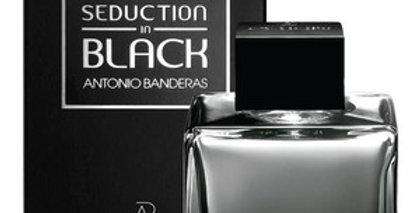 SEDUCTION IN BLACK EAU DE TOILETTE SPRAY / ANTONIO BANDEIRAS