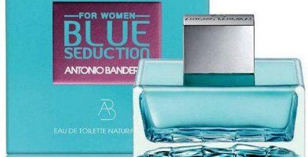BLUE SEDUCTION WOMAN EAU DE TOILETTE SPRAY / ANTONIO BANDEIRAS