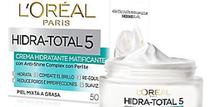 HIDRATACION TOTAL 5 Antishine-Matificante  /L'oréal