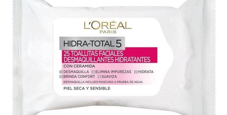 TOALLITAS DESMAQUILLANTES HYDRA CONFORT 25 Un  /L'oréal
