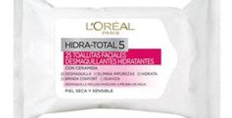 TOALLITAS DESMAQUILLANTE IDEAL BALANCE 25 Un.  /L'oréal