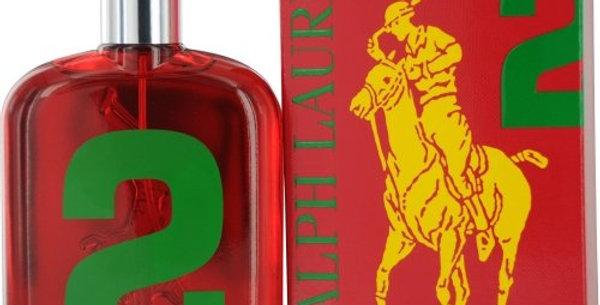 RALPH LAUREN BIG PONY  #2 RED 125ML EDT / RALPH LAUREN