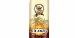 Accel Continuous Spray w/Bronzee/ AUSTRALIAN GOLD