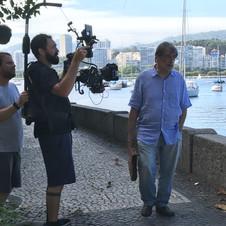 Walter Lima Jr - gravação de Walter O Filme 2018