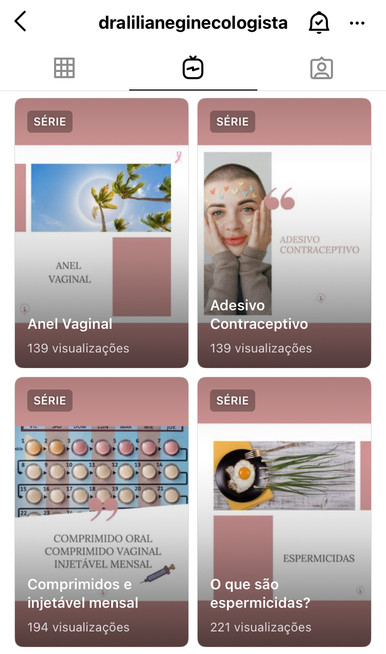 conteúdo interativo