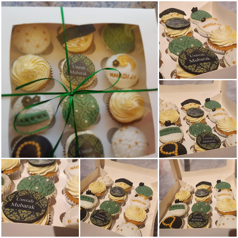 Umrah cupcakes