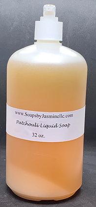 Patchouli 32oz Liquid Soap
