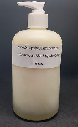 Honeysuckle 16oz Liquid Soap