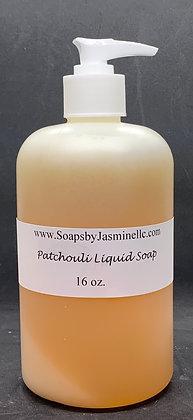 Patchouli 16oz Liquid Soap