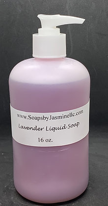 Lavender 16oz Liquid Soap