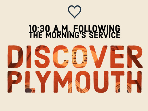 Discover Plymouth!