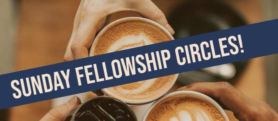 Sunday Fellowship Circles
