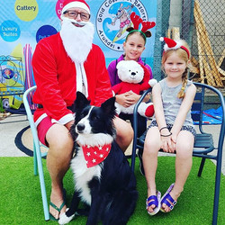 Santa Paws has arrived! Come on down for