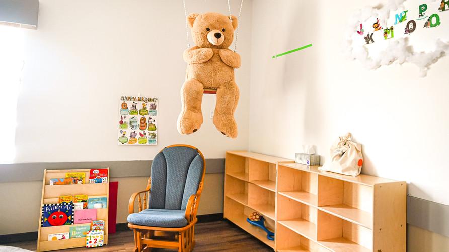 Infant Toddler Reading Corner