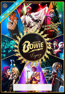 Absolute Bowie Legacy tour poster 2019 b