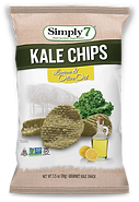 Simply 7  Kale Chips Lemon + Olive