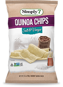 Simply 7  Quinoa Chips Salt + Vinegar