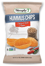Simply 7 Hummus Chips Chili Pepper