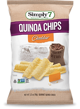 Simply 7  Quinoa Chips - Cheddar
