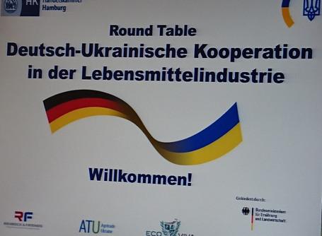 1. Deutsch-ukrainisches Lebensmittelforum in Hamburg und Berlin